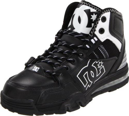 DC Men's Versatile WRh Action Sports Shoe,Black/White/M Silver,11 M US
