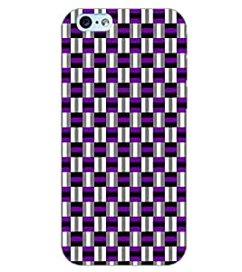 PrintDhaba MUTLI SQUARE PATTERN D-6724 Back Case Cover for APPLE IPHONE 6 PLUS (Multi-Coloured)