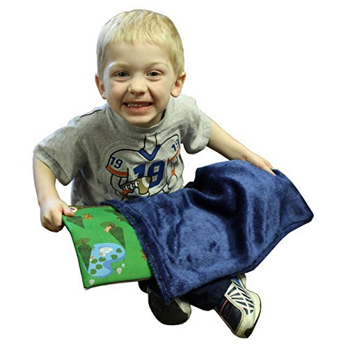 Fun And Function WR3481 Medium Blue Fur Lap Pad Slipcover