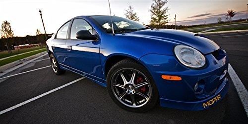 Dodge SRT4 Blue Right Front Turbo Neon Wide Aspect HD Poster Sports Car 48 X 24 Inch Print (Dodge Neon Srt4 compare prices)