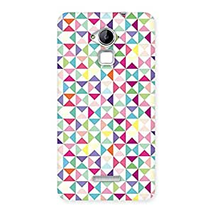 Special Trangel Color Print Back Case Cover for Coolpad Note 3