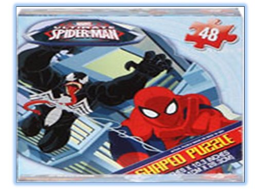Ultimate Spider-man 48 Piece Shaped Puzzle