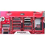Milwaukee 48-32-4021 Shockwave Impact Duty Driver Bit Set (70-Piece) (Color: Red)