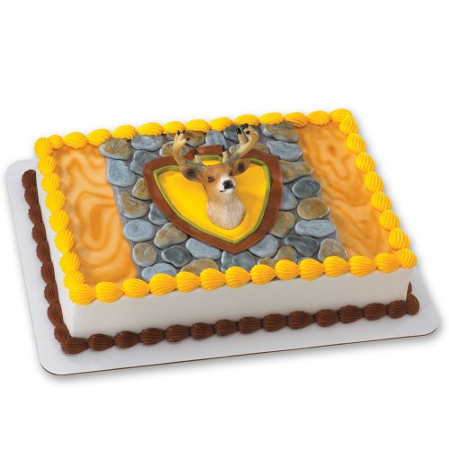Deer Head Magnet DecoSet Cake Decoration