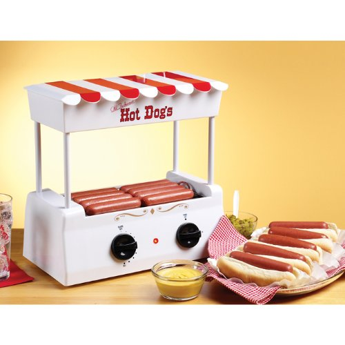 Old Fashioned Hot Dog Roller-by Nostalgia