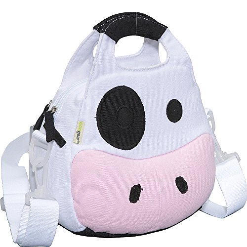 ecogear-ecozoo-kids-cow-lunch-tote-black-white-one-size