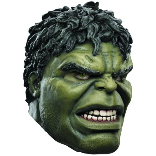 Disguise Avengers Hulk Adult Latex Deluxe Mask