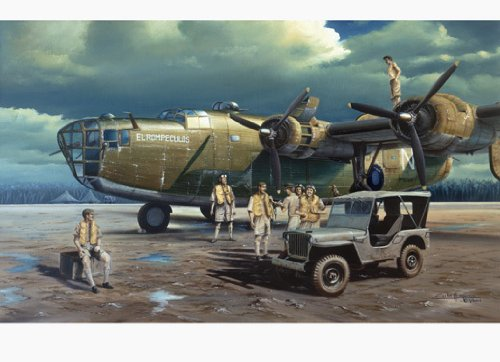 B24 Consolidated Liberator Bomber by Carlos Garcia 9