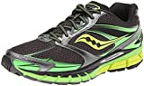 Saucony Men's Guide 8 Running Shoe Black / Slime / Citron 11 D(M) US