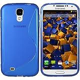 mumbi S-TPU Schutzhülle Samsung Galaxy S4 Hülle blau