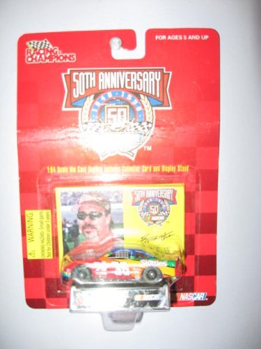 Racing Champions 50th anniversary 1/64 scale diecast #36 Ernie Irvan with collectible card