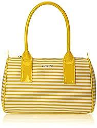 Sugarush Angel Women's Satchel Handbag (Yellow) SR/ANG/DF114/FIN2015)