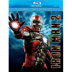Iron Man 2 (Three-Disc Blu-ray/DVD Combo)