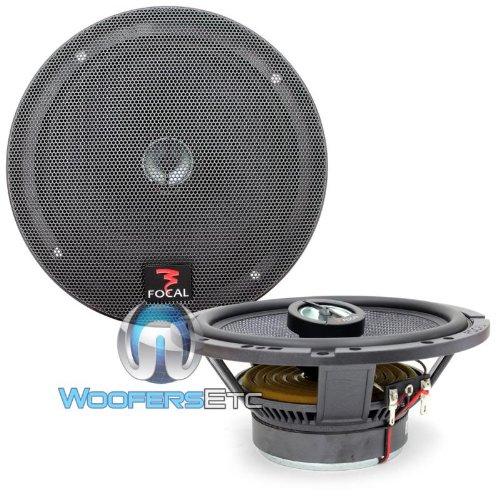"""Pkg Focal 165Ca1 6.5"""" 2 Way Coaxial Speakers + Arc Audio 6.5"""" Speaker Adapter Rings"""