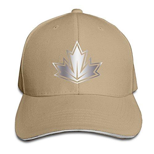 team-canada-2016-world-cup-of-hockey-primary-platinum-logo-men-baseball-cap-natural