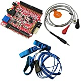 SHIELD-EKG-EMG + SHIELD-EKG-EMG-PA + SHIELD-EKG-EMG-PRO EKG EKG arduino shield kit including leads