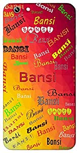 Bansi (Flute of Lord Krishna Whistle Flute Melodious) Name & Sign Printed All over customize & Personalized!! Protective back cover for your Smart Phone : Apple iPhone 5/5S