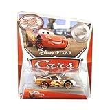 Disney Pixar Cars - 1:55 Scale Diecast Silver Racer Series -HUDSON HORNET