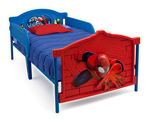 Marvel Spider-Man 3-D Twin Convertible Toddler Bed BB86658SM