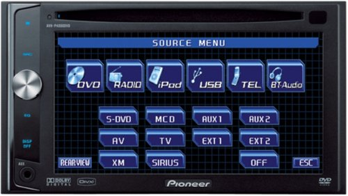 Pioneer AVH-P4000DVD 2-Din DVD Multimedia AV Receiver