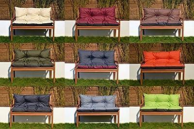 Gartenbankauflage Bankauflage Sitzpolster Bankkissen Sitzkissen Polsterauflage, leicht zu reinigen von GD - Gartenmöbel von Du und Dein Garten