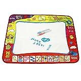 Infantil De Dibujar Alfombra Aquadraw Pintar Garabato Agua Juego Mat Aprendizaje Magia Agua Pintar Boli 80cmx60cm