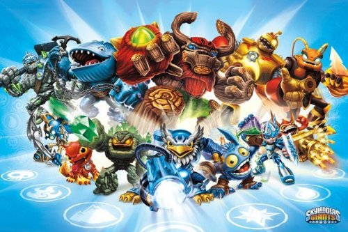 "Skylanders Giants - Gaming Poster (Group) (Size: 36"" x 24"")"