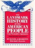 The Landmark History of the American People:Vol. 1 (039489118X) by Daniel J. Boorstin