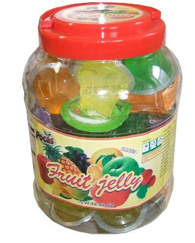 Fruit Jelly Cups Recipe Pocas Fruit Jelly Cups
