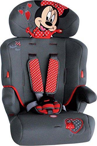disney-seggiolino-auto-9-36-kg-minnie-bianco-nero-rosso