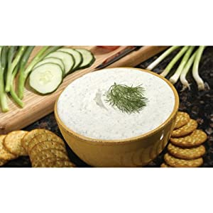 Cucumber Onion Dill Dip Q601