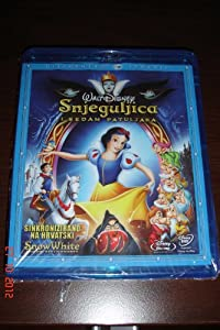 Snow White And The Seven Dwarfs Combo Pack (2 Blu-ray Discs + DVD) - Croatian edition(import) - Region B/C and DVD 2