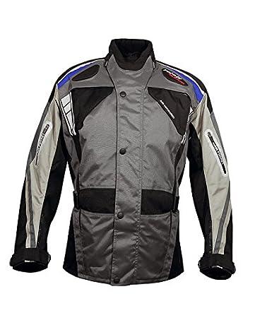 Roleff Racewear 5292 Blouson de Moto  Vevey en Tissu Noir