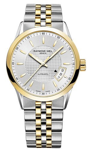 Raymond-Weil-Mens-Freelancer-Swiss-Automatic-and-Stainless-Steel-Dress-Watch-ColorTwo-Tone-Model-2770-STP-65021