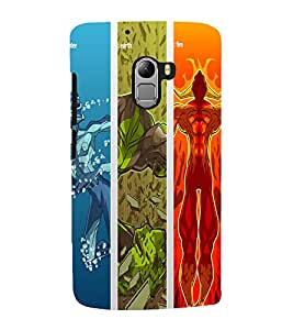 printtech Musical Trumpet Abstract Back Case Cover for Lenovo K4 Note A7010a48, A7010