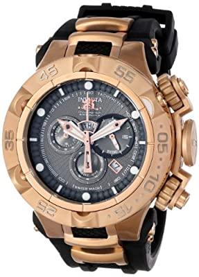 Invicta Men's 12882 Subaqua Noma Grey Dial Rose Gold Chronograph Watch