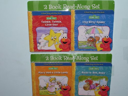 4 Sesame Street Books (Sold As a Set of 2 Packs of Books) - 1