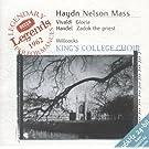 Haydn: Nelson Mass / Vivaldi: Gloria in D / Handel: Zadok the Priest