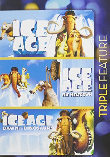 Ice Age / Ice Age The Meltdown / Ice Age Dawn of the Dinosaurs Triple Feature (Ice Meltdown compare prices)