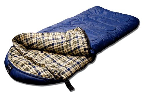 Grizzly -25 Degree RipStop Sleeping Bag (Blue)