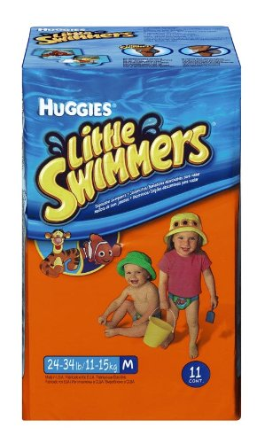 Huggies Swim Swimpants Medium, Medium, 24-34 lbs, 11 ea - 1 Pack - 1