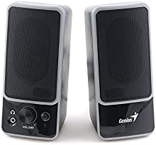 Genius SP-M200 - Altavoces, 6 W, 6 W, 2.0, 80 Db, 6 W, 200 - 18000 Hz