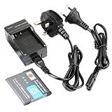 DSTE® NP-BN1 Replacement Li-ion Battery + Charger DC95U for Sony Cyber-shot DSC-QX10, DSC-QX100, DSC-T99, DSC-T110, DSC-TF1, DSC-TX5, DSC-TX7, DSC-TX9, DSC-TX10, DSC-TX20, DSC-TX30 etc...