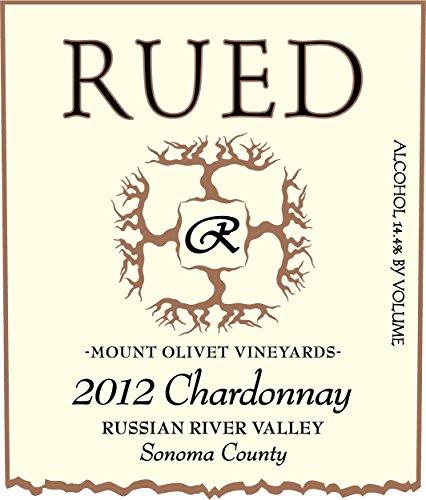2012 Rued Mt. Olivet Chardonnay 750 Ml