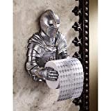 Design Toscano A Knight to Remember Gothic Bath Tissue Holder