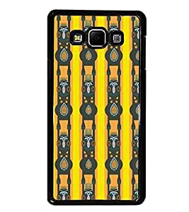 PrintDhaba Pattern D-5246 Back Case Cover for SAMSUNG GALAXY E7 (Multi-Coloured)