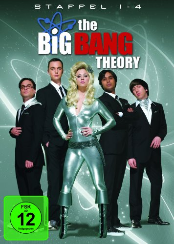The Big Bang Theory - Die kompletten Staffeln 1-4 (Exklusiv bei Amazon.de) [13 DVDs]