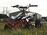50cc Street Assassin Mini Off-Road Petrol Quad Bike - Black from Very Bazaar (tm)