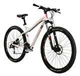 Diamondback Bicycles Women's 2015 Lux Hard Tail Complete Mountain Bike, 15-Inch/Small, White