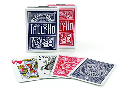 Jeu de 54 Cartes Tally Ho - Poker